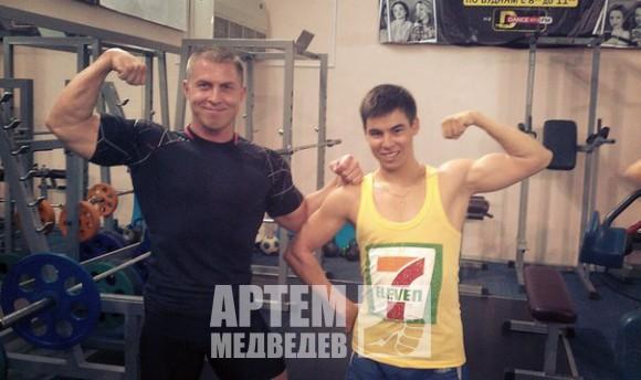 с Дмитрием Кононовым, многократным чемпионом ПФО, персональным тренером и просто хорошим приятелем