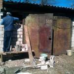 ремонт гаража своими руками