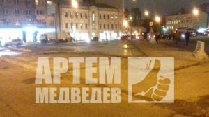 Снос незаконных ларьков Москва