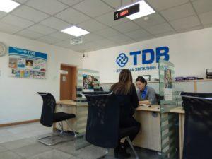 Ожидаю своей очереди в Монгольском банке